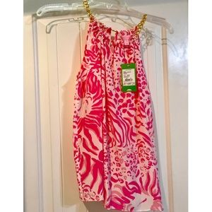 NWT Lilly Pulitzer Riviera Top in Get Spotted